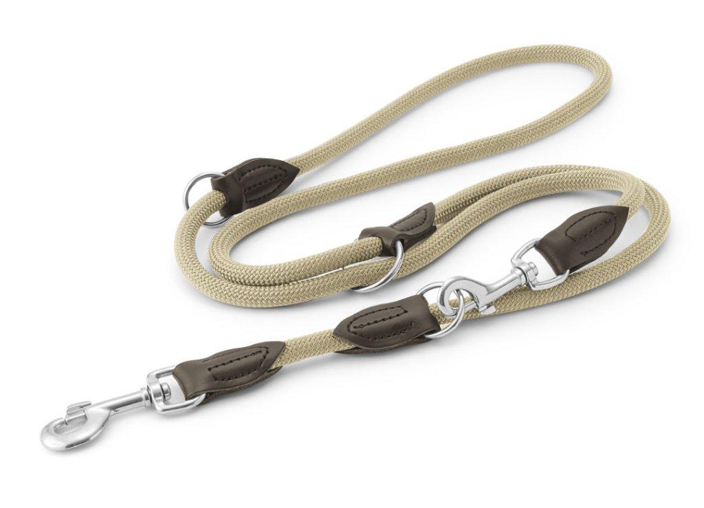 ハンター ナイロンロープ フリースタイル トレーニング(3way)リード beigeの画像