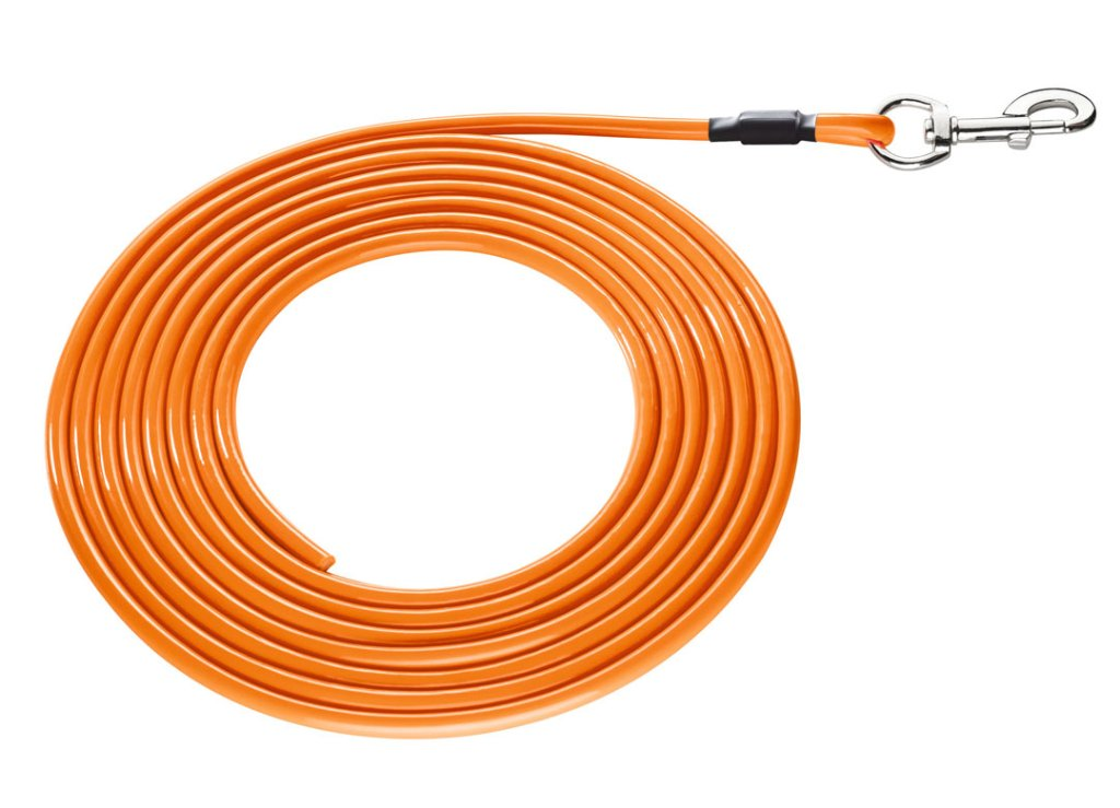 ハンター コンビニエンス ラウンドトラッキングリード neon orangeの画像