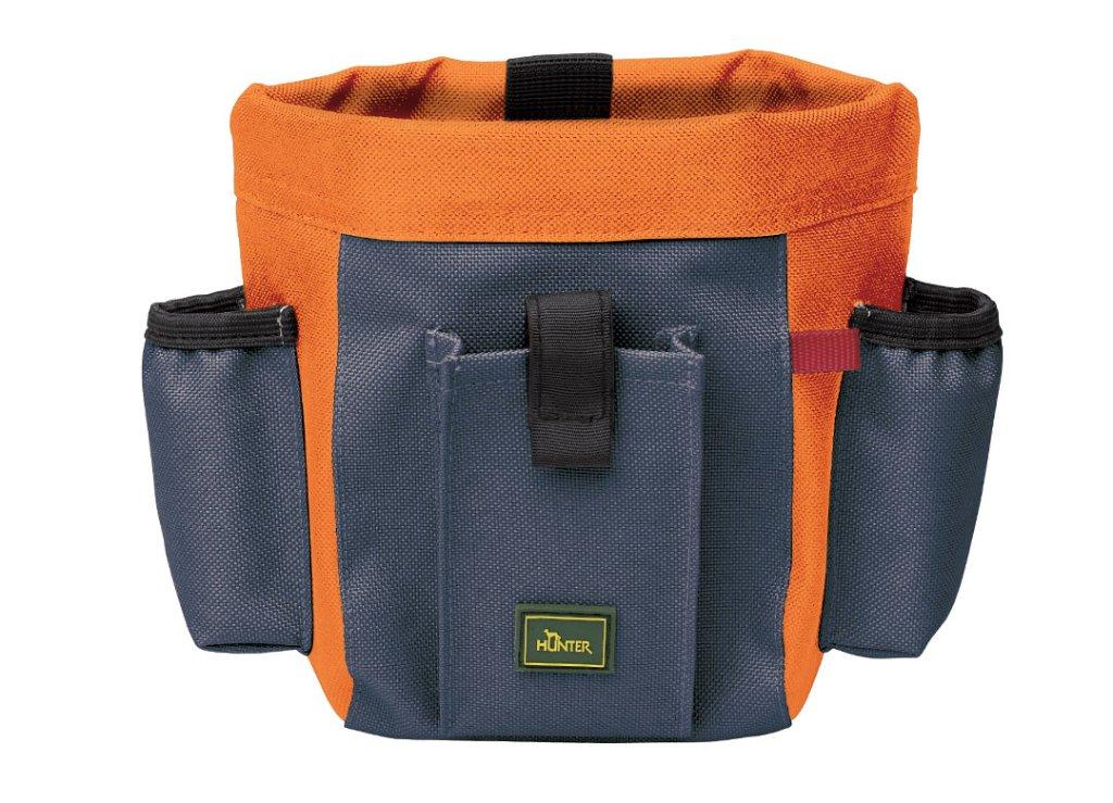 ハンター ベルトバッグ ブグリノ プロフィ grey-blue/orangeの画像