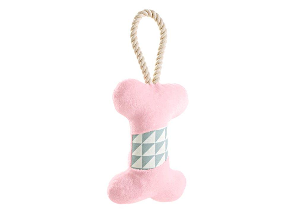 ハンター ドッグトイ サリマ ボーン ピンク の画像