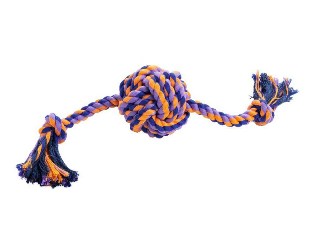 ハンター ドッグトイ ボール withロープ イェーナの画像
