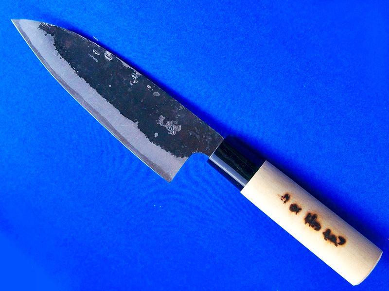 出刃包丁・安来白紙2号・150ミリ |魚をまるごと調理|長崎県 刃物通販・吉光画像