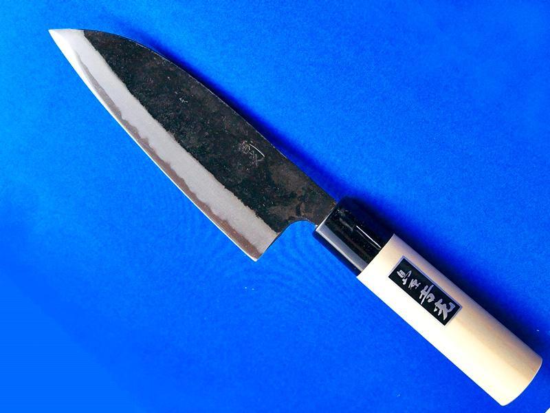 大出刃包丁(両刃) 180ミリ ホウ柄  料理人や釣り好きにおススメ 鍛冶屋・吉光画像
