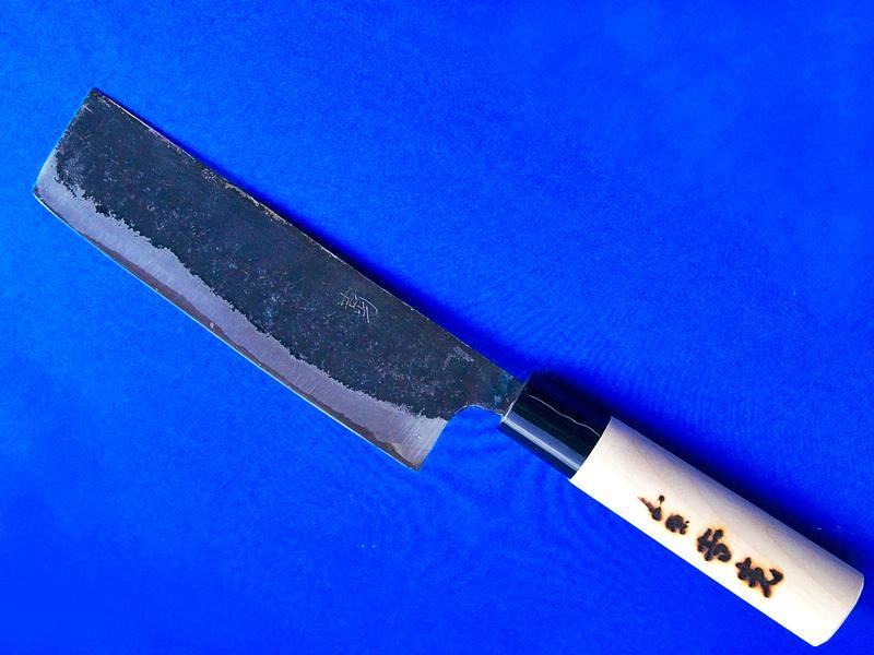 菜切包丁 160mm 白紙1号 ほう柄  野菜のきざみにおススメ  長崎手打刃物 ネットショップ・吉光画像