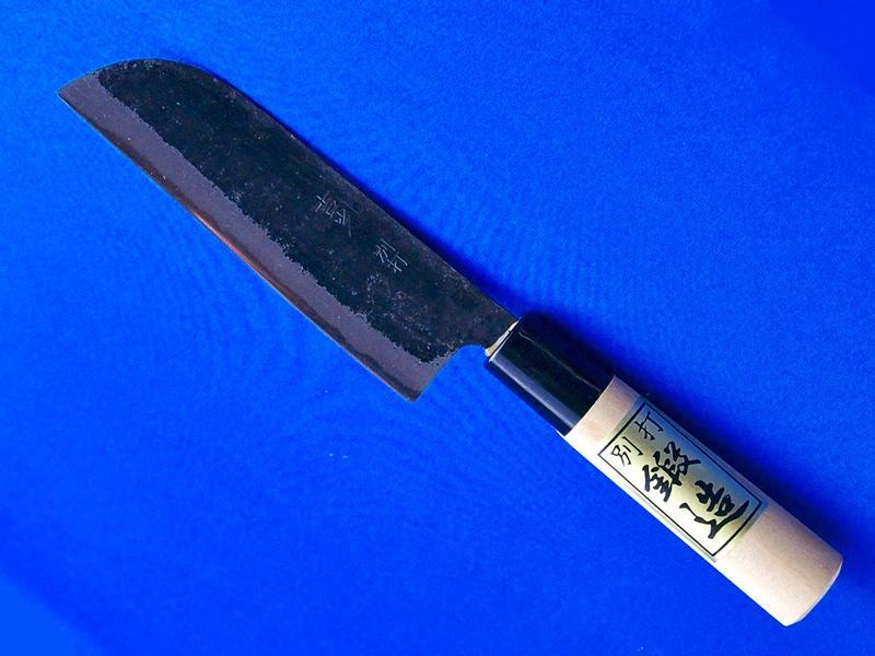 和の小包丁・小菜切包丁・125mm・鎌型(かまがた)|耐久性と切れ味が自慢、野菜の調理に重宝|長崎県・吉光刃物画像