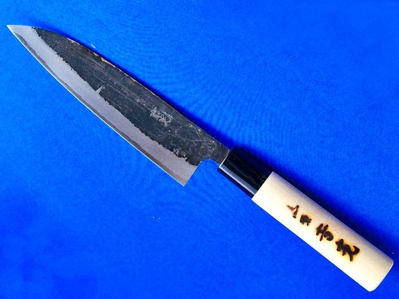 イカサキ包丁・白紙2号・150mm ホウ柄 |手打刃物 鍛冶屋・吉光画像
