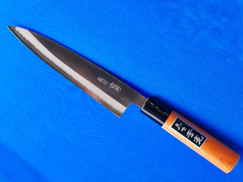 ステンレス・イカサキ包丁・パウダーハイス鋼 |鍛冶職人の技と新しい刃物素材がコラボした究極の包丁|鍛冶屋・吉光の画像