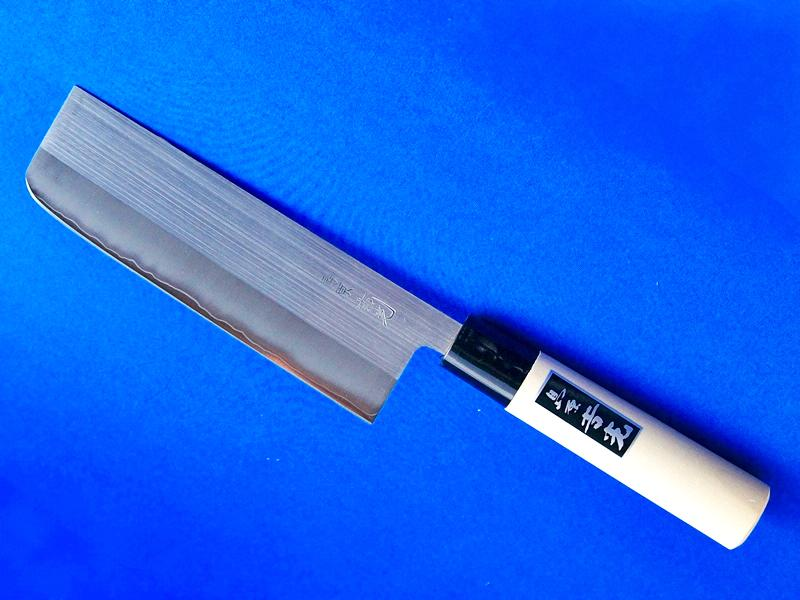 こだわりのステンレス菜切包丁・粉末ハイス鋼・160mm |多用途で錆に強い|刃物通販 鍛冶屋・吉光の画像