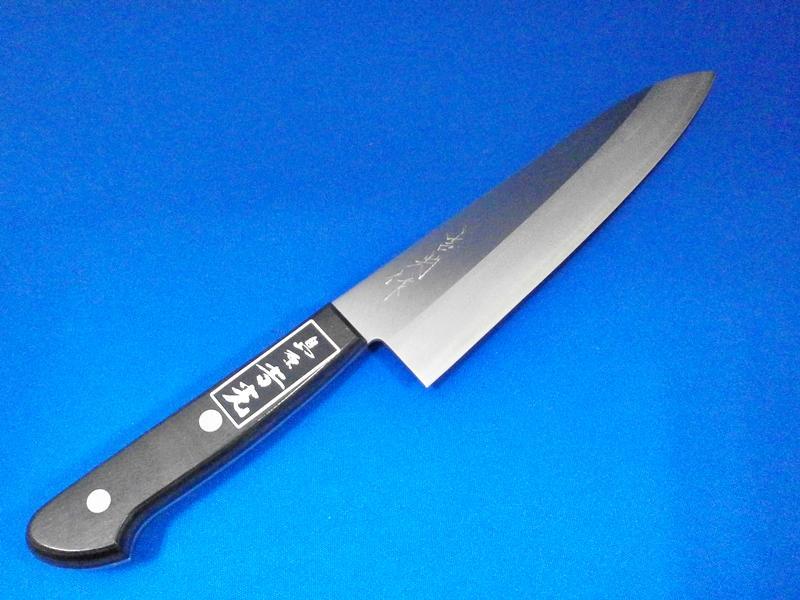 ステンレス・ハイス牛刀・180mm|グルメなお父さんの包丁・父の日のギフトにおススメ|刃物通販 鍛冶屋・吉光の画像
