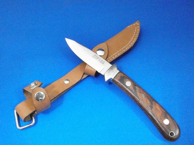 フィッシングナイフ・85mm・ZDP189鋼|釣りのお供におススメ|長崎県伝統工芸品 長崎手打刃物「吉光」の画像