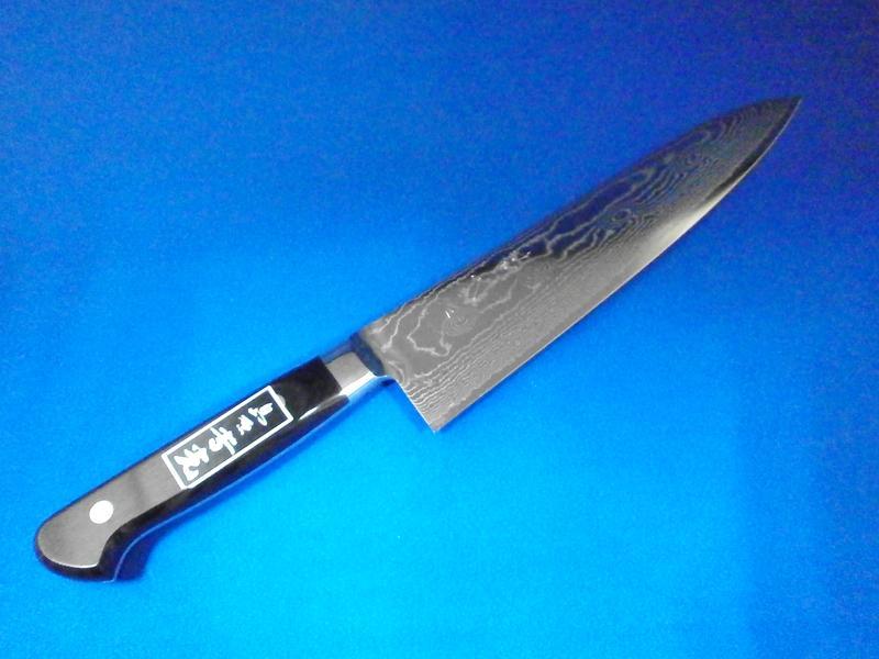 牛刀・V金10・210mm|プロも絶賛の切れ味・美しい刃紋|刃物通販 鍛冶屋・吉光の画像