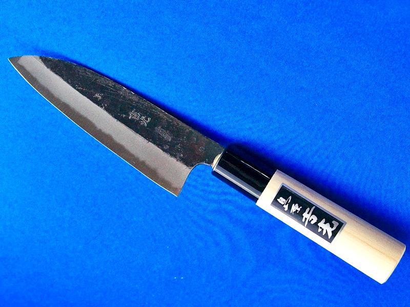 小出刃包丁・安来青紙2号・125ミリ|料理人や釣り人にも人気|長崎手打刃物 鍛冶屋・吉光の画像
