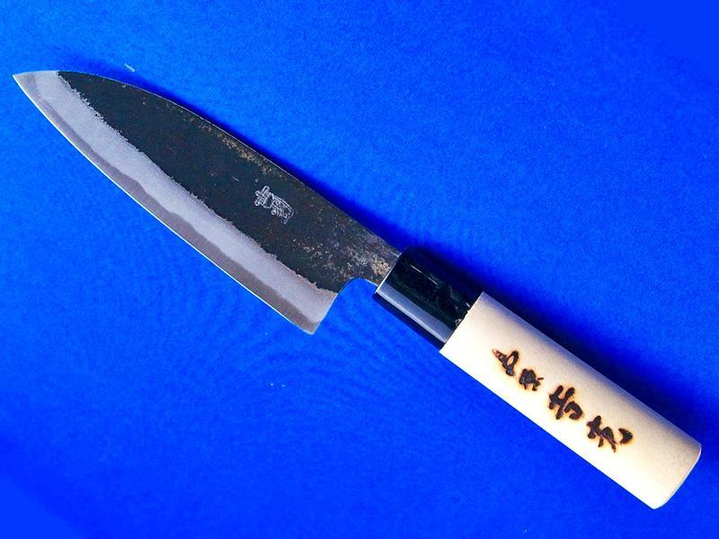 薄出刃包丁・安来白紙2号・150ミリ|小魚を捌くのに重宝|長崎県 刃物通販・吉光の画像